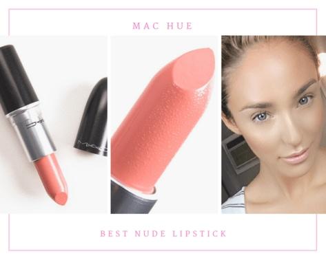 MAC Hue best nude lipstick