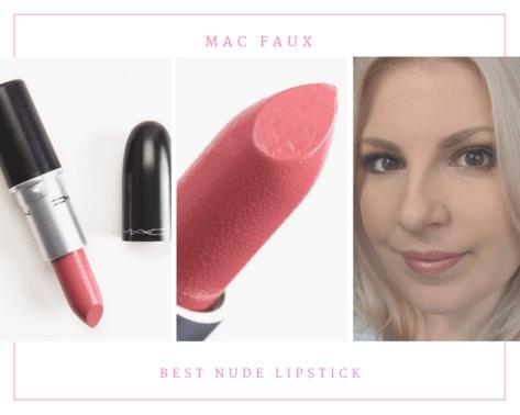 MAC Faux best nude lipstick