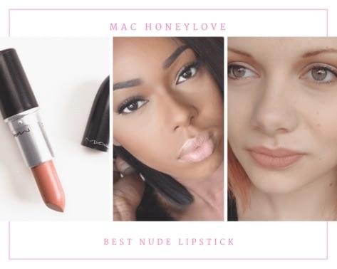 MAC Honeylove best nude lipstick