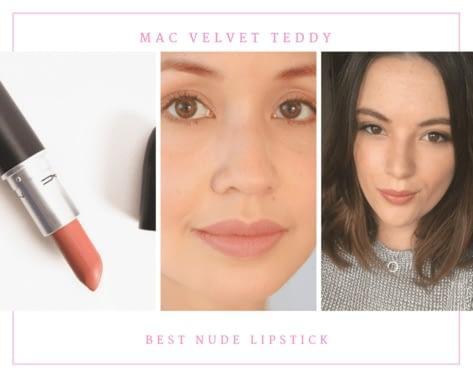 MAC Velvet Teddy best nude lipstick